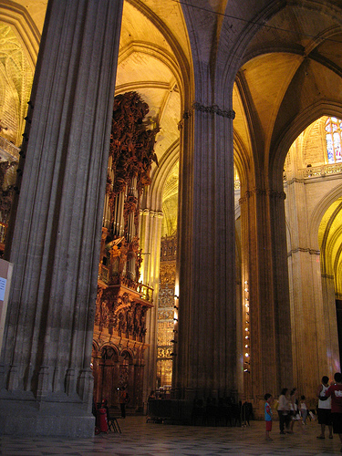 The Scale of Seville Cathedral
