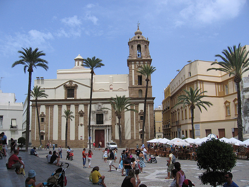 Cathedral Square, Cadiz