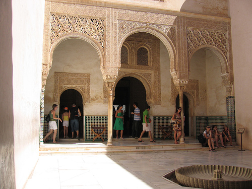 Archway in Alhambra