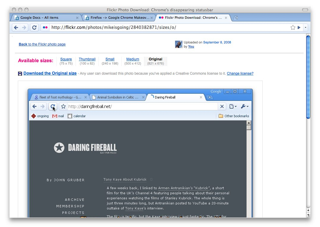 d x 1 3 - Firefox to Chrome Makeover